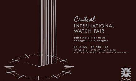 Central International Watch Fair 2016