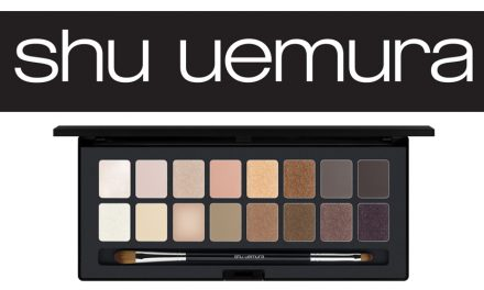 Shu: Palette – Blushing Beige เพื่อดวงตาและสีผิว
