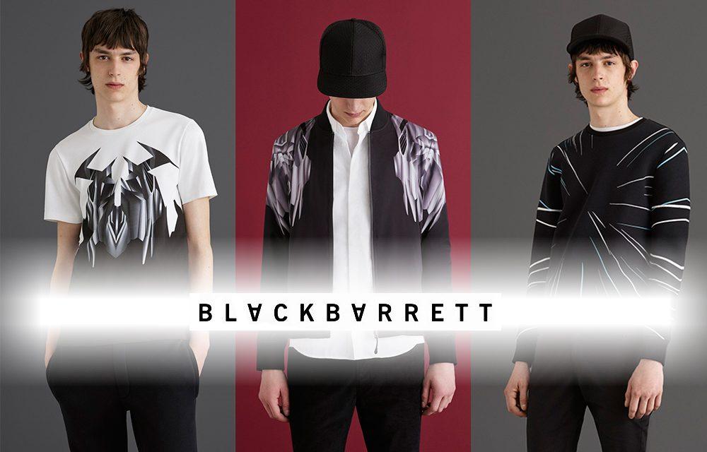 BLACKBARRETT AW16 COLLECTION จุดเริ่มต้นของเส้นร่าง