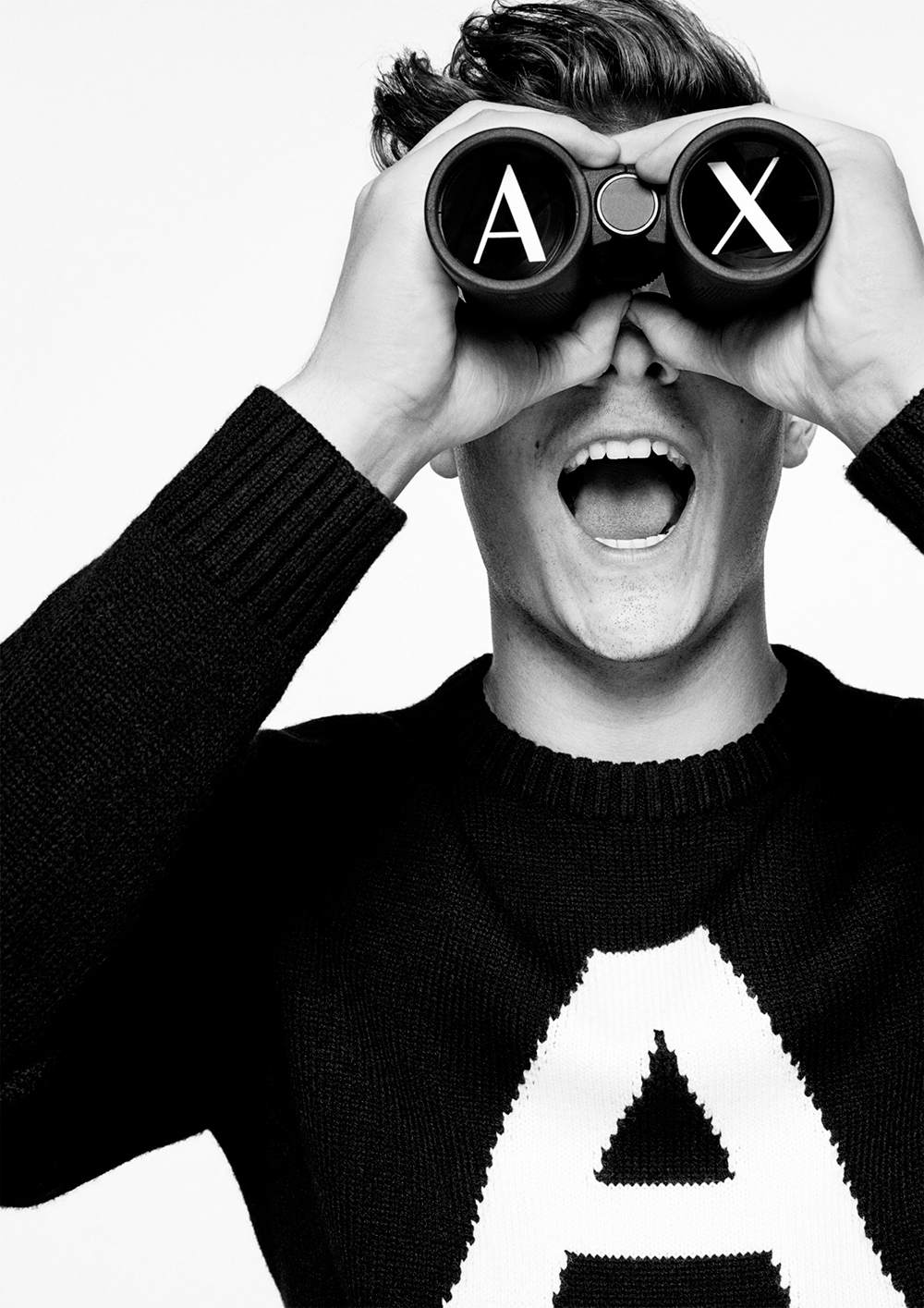 MARTIN GARRIX FRONTTHE NEW AX ARMANI EXCHANGE FW 1718 ADVERTISING CAMPAIGN 6