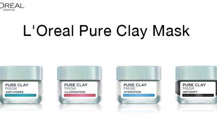 L'Oreal Pure Clay Mask – ผิวสะอาดรู้สึกราวดีท็อกซ์