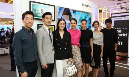 """ถ่ายทอดตัวตน ค้นพบแรงบันดาลใจไปกับ """"Samsung The Frame"""""""
