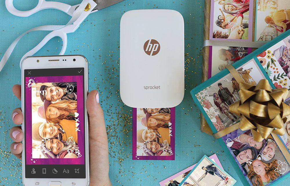 HP Sprocket ปริ๊นเตอร์ภาพขนาดจิ๋วใหม่ล่าสุด