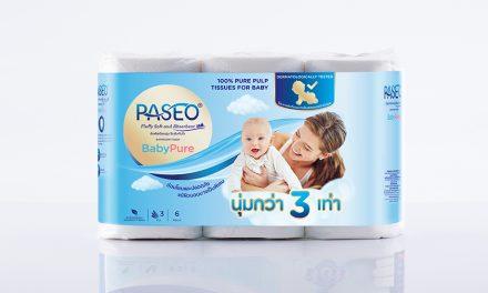 พาซิโอ (Paseo) กระดาษทิชชูที่ไม่ทำร้ายผิวคุณ