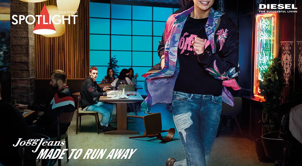 DIESEL JOGGJEANS – สร้างสรรค์เพื่อการวิ่ง (หนี) ไป