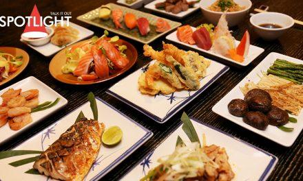 อิ่มไม่อั้น!!! อาหารญี่ปุ่นปรุงสด พร้อมเสิร์ฟจานต่อจาน