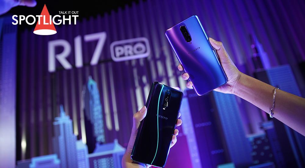 OPPO R17 Pro สมาร์ทโฟนตัวท็อป ดึงความเป็นแฟชั่นไอเท็ม