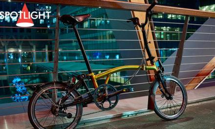 Brompton Go for Gold – จักรยานรุ่น Gold Edition