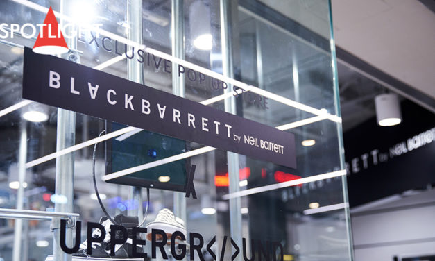 Exclusive launch BLACKBARRETT x Upperground