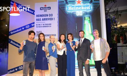 เปิดตัว Heineken® 0.0 เครื่องดื่มมอลต์ไม่มีแอลกอฮอล์