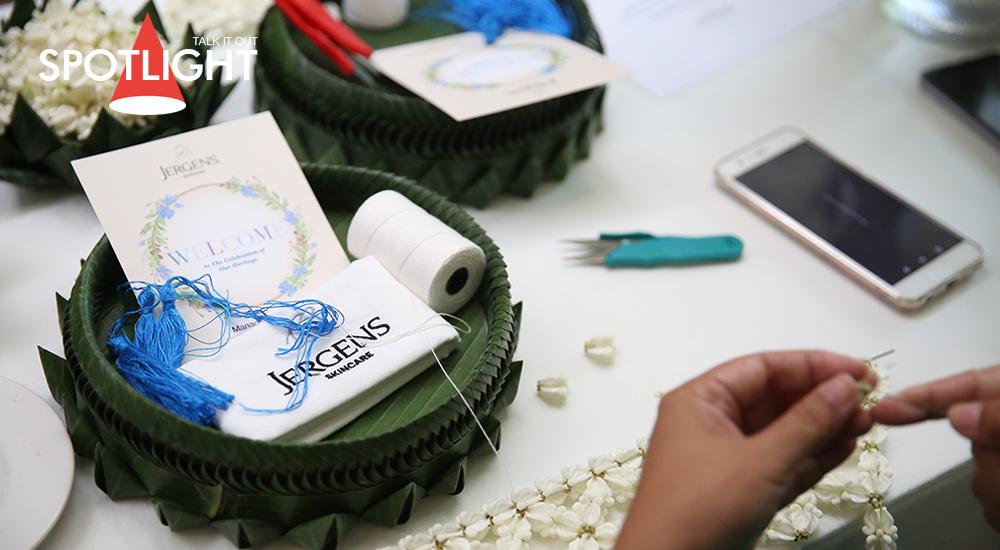 Silk & Scent : Silk Floral Garland Workshop with Jergens