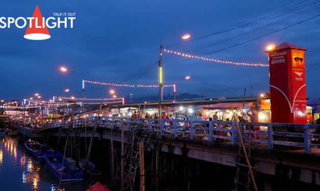 ชวนฟินกับสตรีทซีฟู้ด ตลาดประมงท่าเรือพลี จ.ชลบุรี