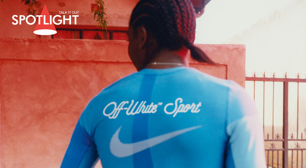 "คอลเล็กชั่น Nike c/o Virgil Abloh ""Athlete in Progress"""