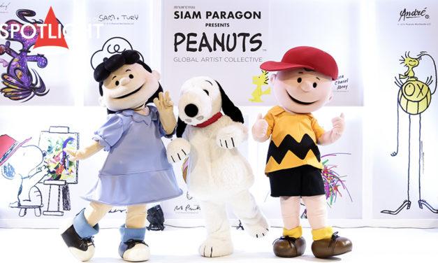 งานเปิดตัว Peanuts Global Artist Collective